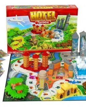 Hotel társasjáték tábla
