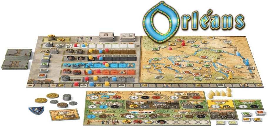 Orelans társasjáték